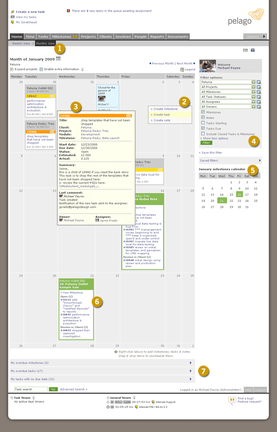 Project Management with Milestones - new Intervals feature to launch soon