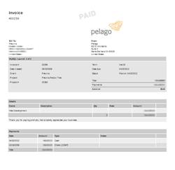 Paid Invoice Watermark