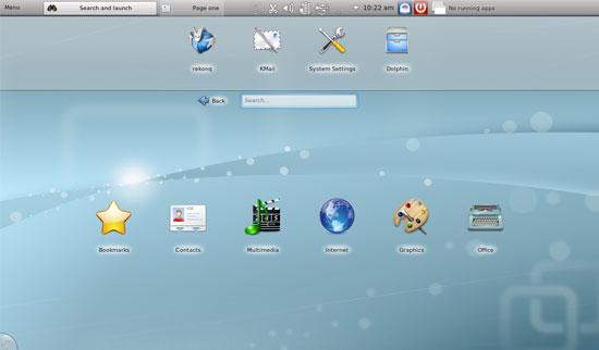 Kubuntu Netbook