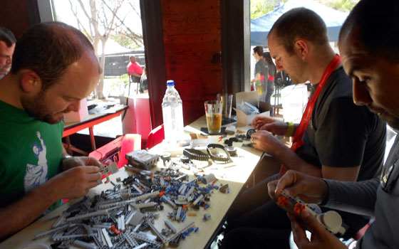 The Intervals Google/Lego Mindstorms Rumble Team