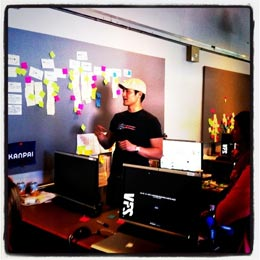 Planning Tracking and Managing Agile Web Development Sprints using Scrum and Intervals