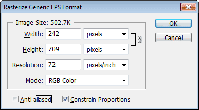 Turning off anti-aliasing in Photoshop