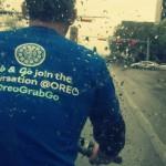 Taking a pedicab through the rain ~ support your local pedicab
