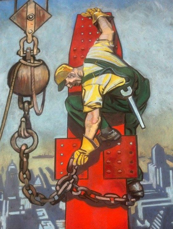 Herbert Paus Illustration for I Madonnari Italian Street Painting Festival