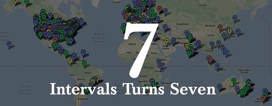 Intervals Turns Seven