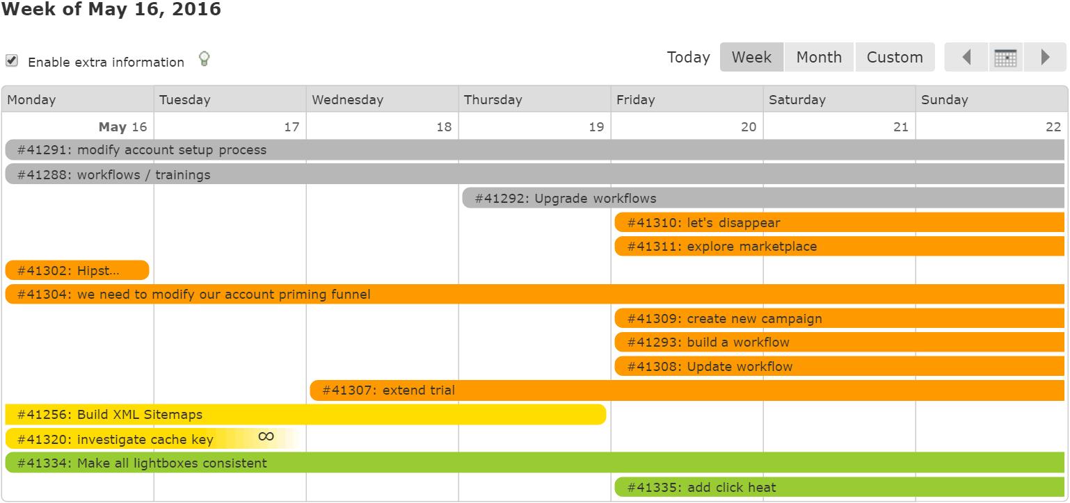 Sneak Peek at the New Task Calendar